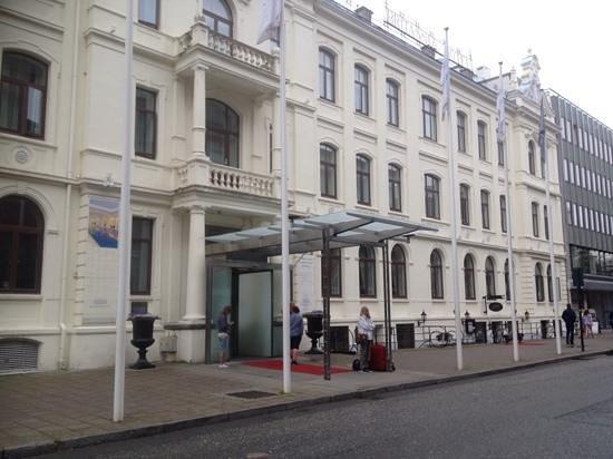 Britannia Hotel: ingresso hotel
