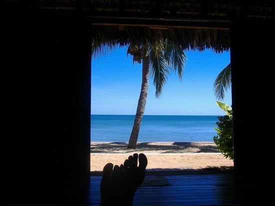 Anjiamarango Beach Resort: Vue du lit