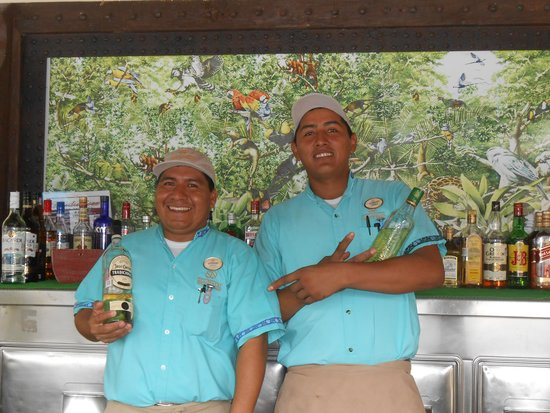 Occidental at Xcaret Destination: Antonio and Aurelio