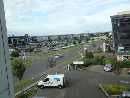 Premier Inn Dublin Airport Hotel: View from the hotel
