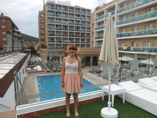 ALEGRIA Maripins: pool area