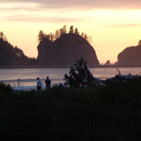 Quileute Oceanside Resort: There's the view you came for