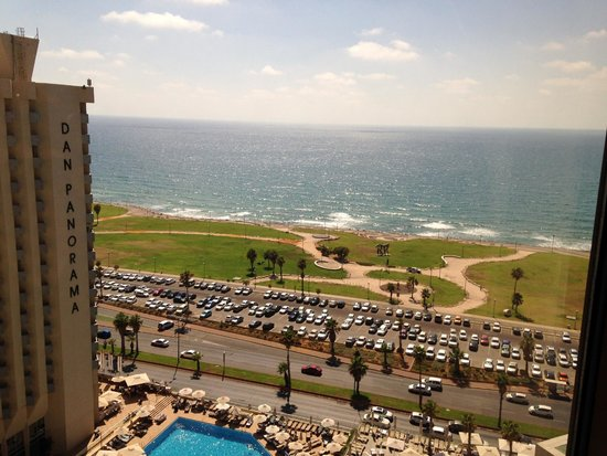 InterContinental David Tel Aviv: View from the 19th floor.