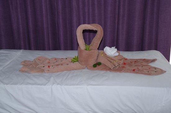 Hotel Riu Naiboa: décoration dans la chambre