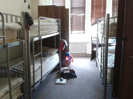 Alba Hostel Glasgow: Standard room!