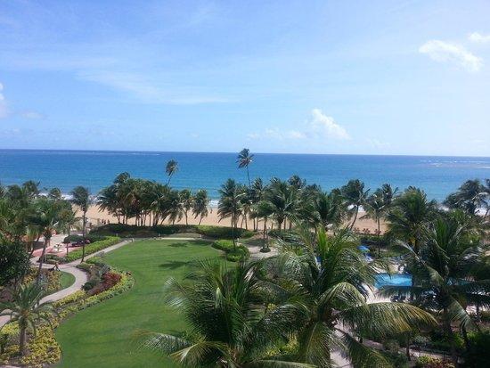 Wyndham Grand Rio Mar Puerto Rico Golf & Beach Resort: Ocean Front View