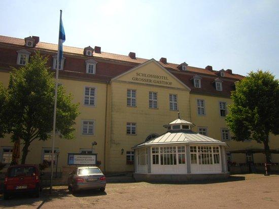 Schlosshotel Grosser Gasthof Van Der Valk Ballenstedt: Das Hotel