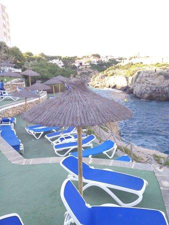 Globales Club Almirante Farragut Hotel: Vistas desde mas amacas