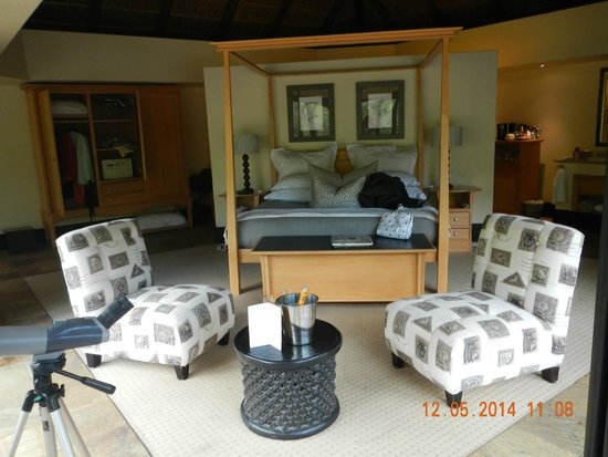 Shamwari Game Reserve: Our Room
