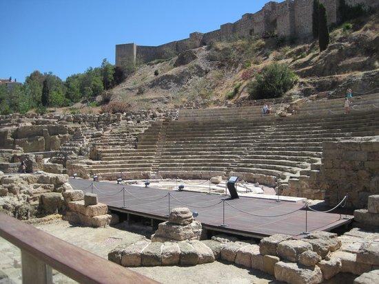 Alcazaba (fort) : ouside