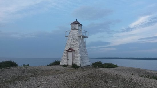 Hecla Provincial Park: Light House Hecla