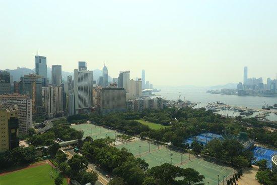 Metropark Hotel Causeway Bay Hong Kong: view