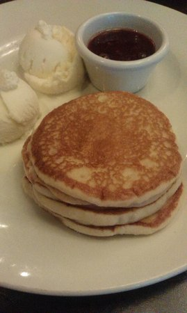 The Eight Bells JD Wetherspoon: American pancakes