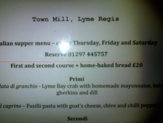 The Mill Cafe and Supper Club: + home made bread !!