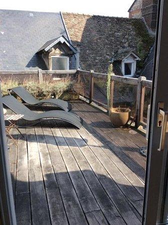 A l'ecole buissonniere: la terrasse