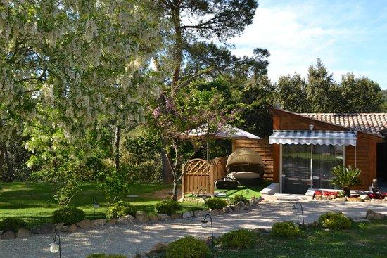 Le Refuge : terrasse Magnolia