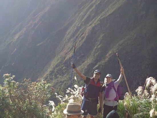 Camino Inca: Inca Trail - dia 3 con Sarah!