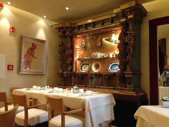 Hotel Raphael: Sala colazione