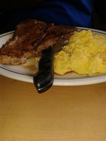 IHOP: T-Bone Steak & Eggs