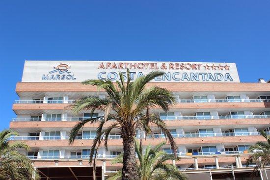 Aparthotel Costa Encantada: Widok z basenu