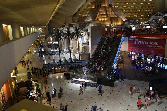 Luxor Las Vegas: Entrata