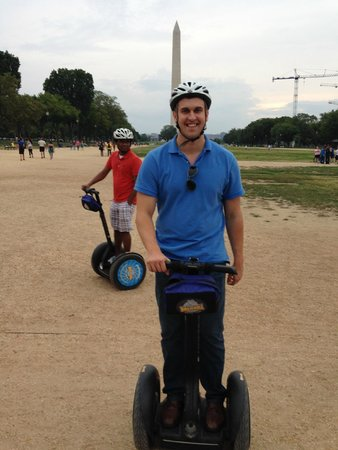 Bike and Roll DC: Segway-ing on the National Mall, Washington DC