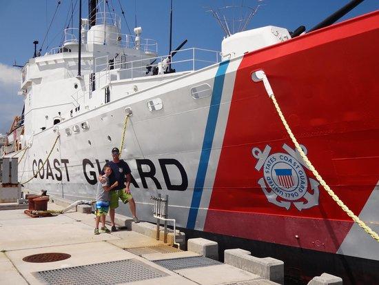 U.S. Coast Guard Cutter Ingham Maritime Museum: great museum