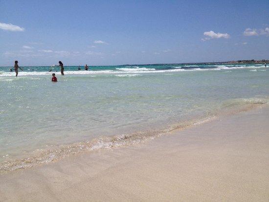 Es Trenc: Пляж.