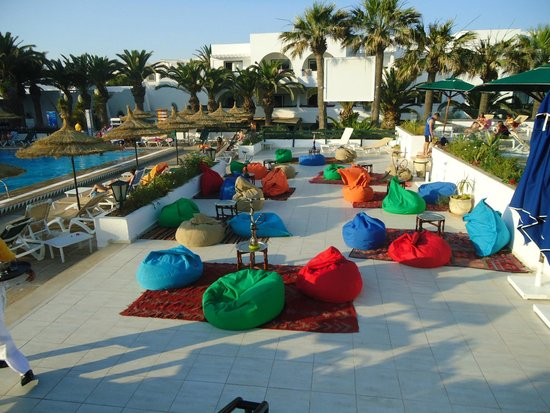 Club Marmara Hammamet Beach : espae chicha
