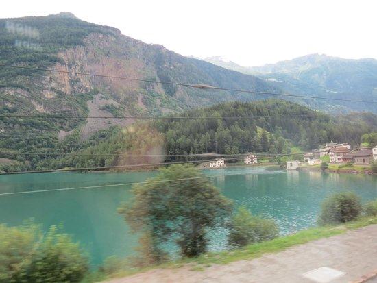 Bernina Express: Largo Blanco