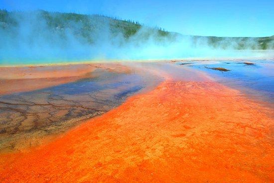 Grand Prismatic Spring: Toxic Landscape