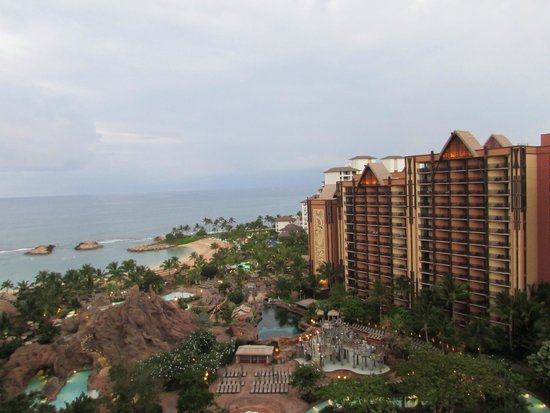 Aulani, a Disney Resort & Spa: view from room