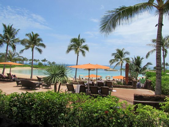 Aulani, a Disney Resort & Spa: view from ama restaurant
