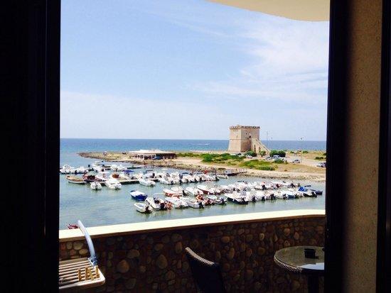 Hotel Alba : Panorama dalla camera