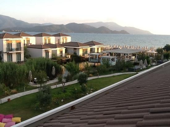 Jiva Beach Resort: view from 3rd floor room