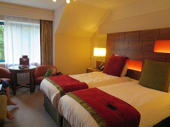 Clontarf Castle Hotel: Twin room