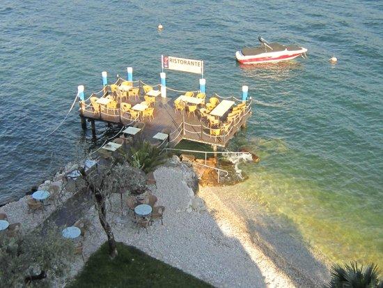 Belfiore Park Hotel: Dock dining