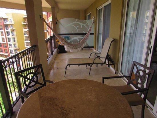 Villa del Palmar Cancun Beach Resort & Spa: 1 bedroom condo patio