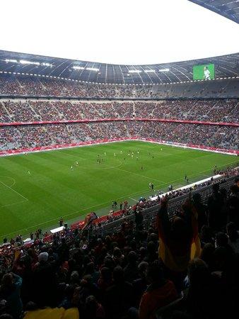 Allianz Arena: Innen Platz