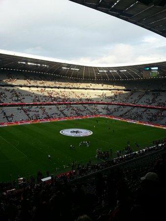 Allianz Arena: Innen