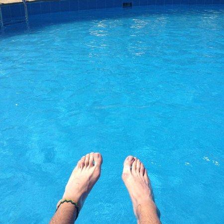 Hospedaje Mancora y Sol : Deliciosa piscina