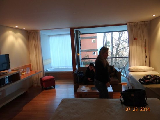 Design Suites Bariloche: Room 4004 with 3rd passenger bed
