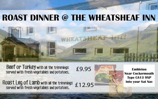 Wheatsheaf Inn: Roast dinners