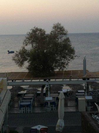Poseidon Beach Hotel: Vue de ma chambre