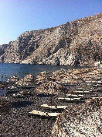 Poseidon Beach Hotel: plage