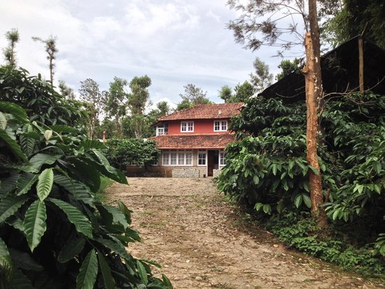 Aranyakam Homestay: the main building