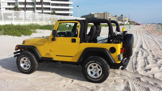 Daytona Beach Resort and Conference Center: Jeep on the Beach