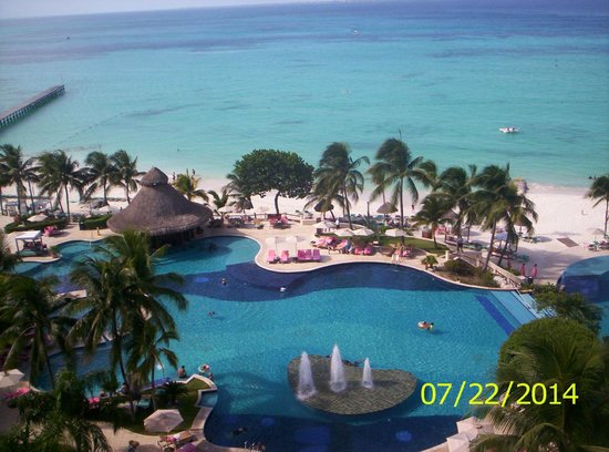 Grand Fiesta Americana Coral Beach Cancun: from the 8th floor elevator