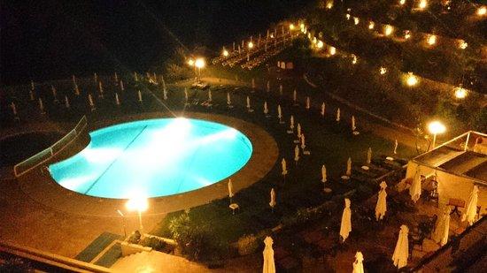 Tivoli Carvoeiro: Pool Area from the Terrace Bar.