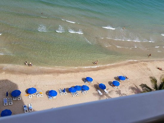 Pelican Grand Beach Resort, A Noble House Resort: View from balcony